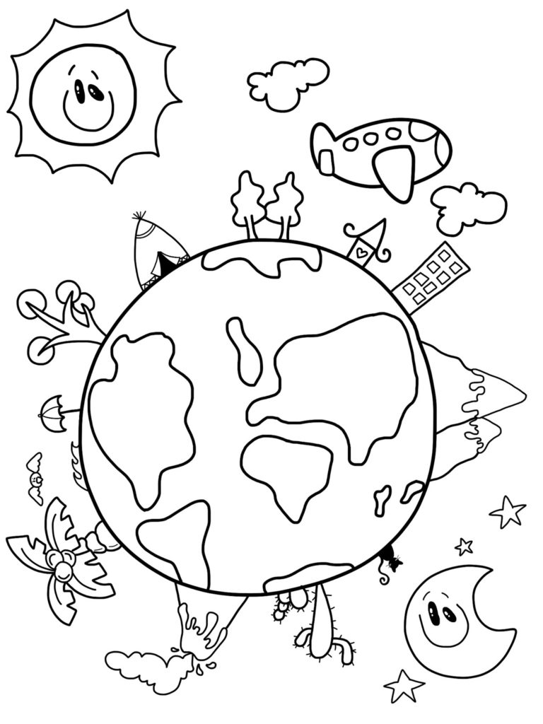 768x1024 Earth Day Drawings On Earth Day 2017