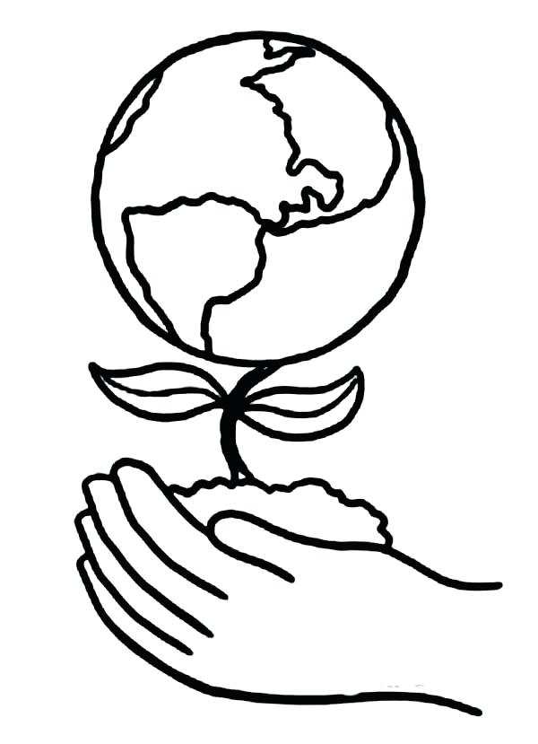 600x829 Earth Day Coloring Book Also Earth Day Flower Coloring Pages