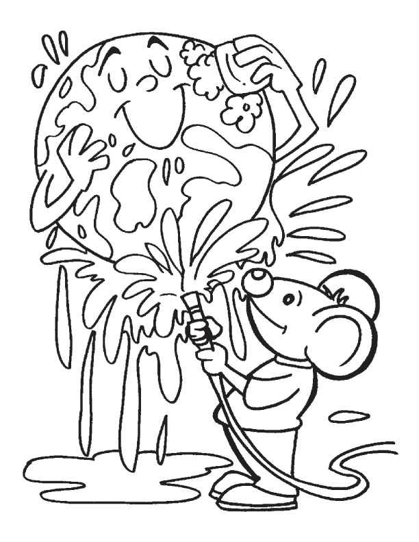 612x792 Earth Day Coloring Pages 1