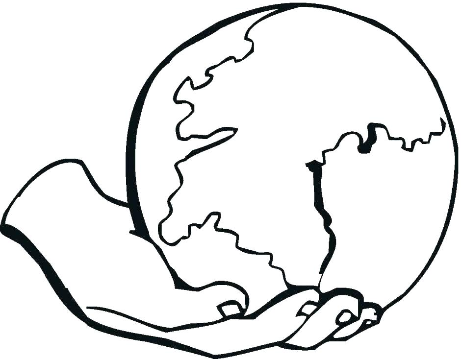 940x733 Coloring Page Of Earth Printable Earth Coloring Pages For Kids