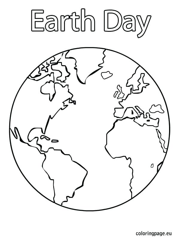 595x804 Coloring Pages Earth Earth Day Coloring Page Coloring Page Earth
