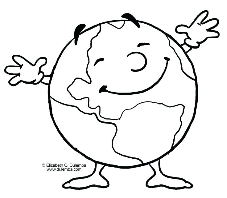736x644 Earth Coloring Page Earth Coloring Page Printable The Best Pages