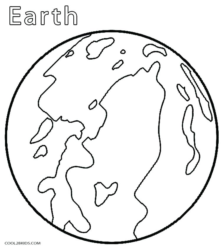 750x840 Coloring Page Of The Earth Coloring Pages Earth Planet Earth