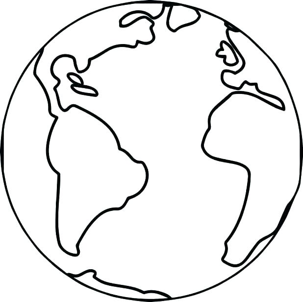 618x617 Coloring Pagesof Earth