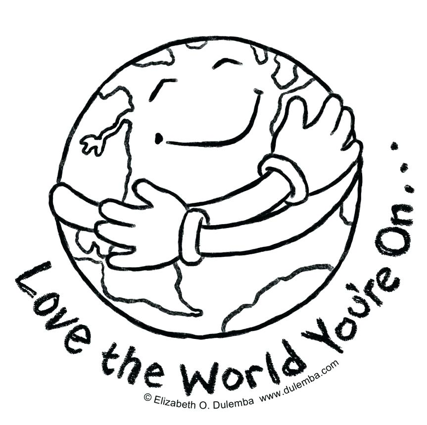 863x859 Coloring Pages Earth Coloring Pages Earth Coloring Page Free