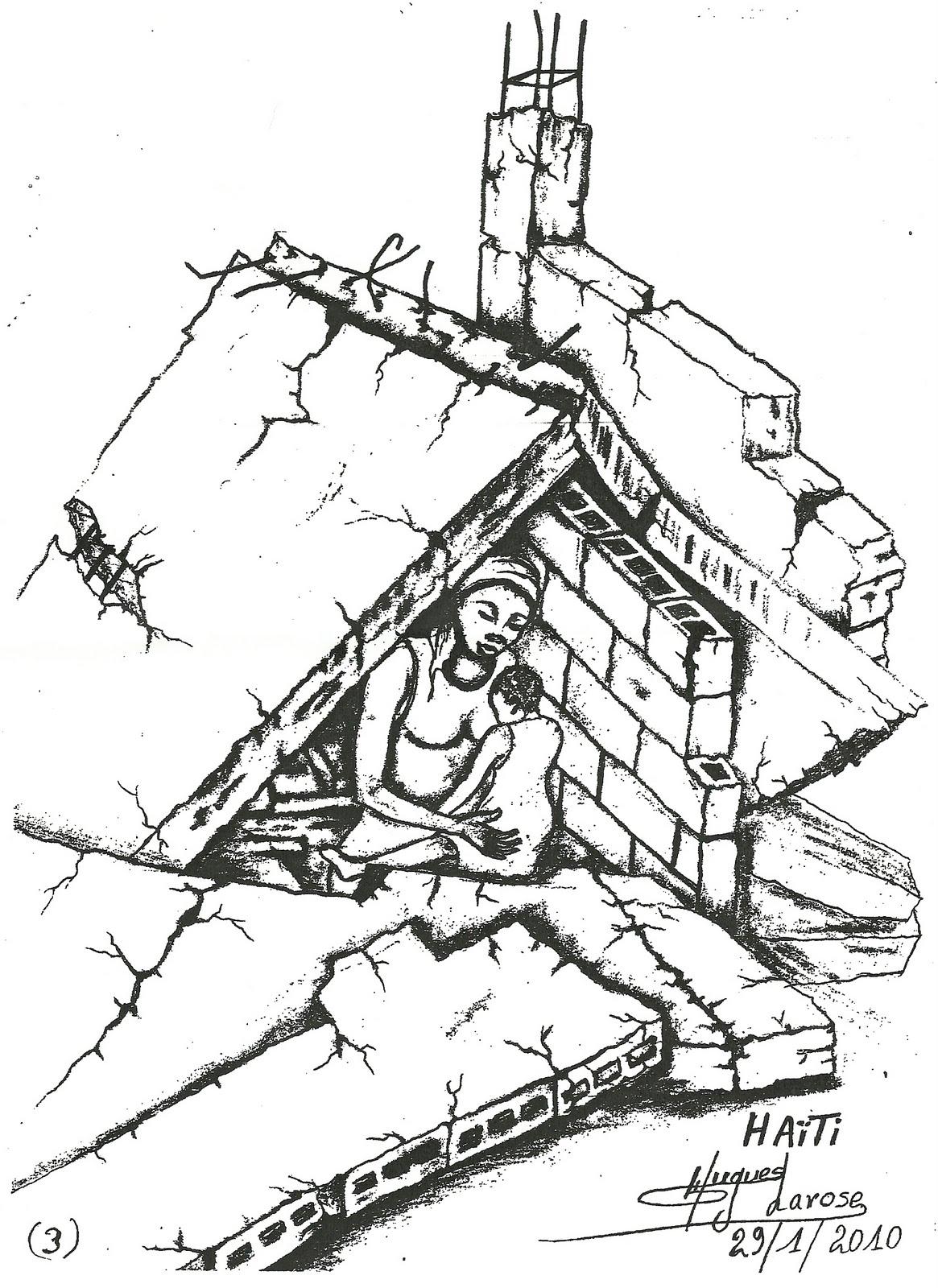 1165x1600 Pencil Sketch Of Earthquake