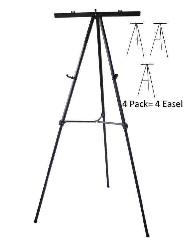 623x831 Pack Of 4 Lightweight Aluminum Flip Chart Presentation Easel