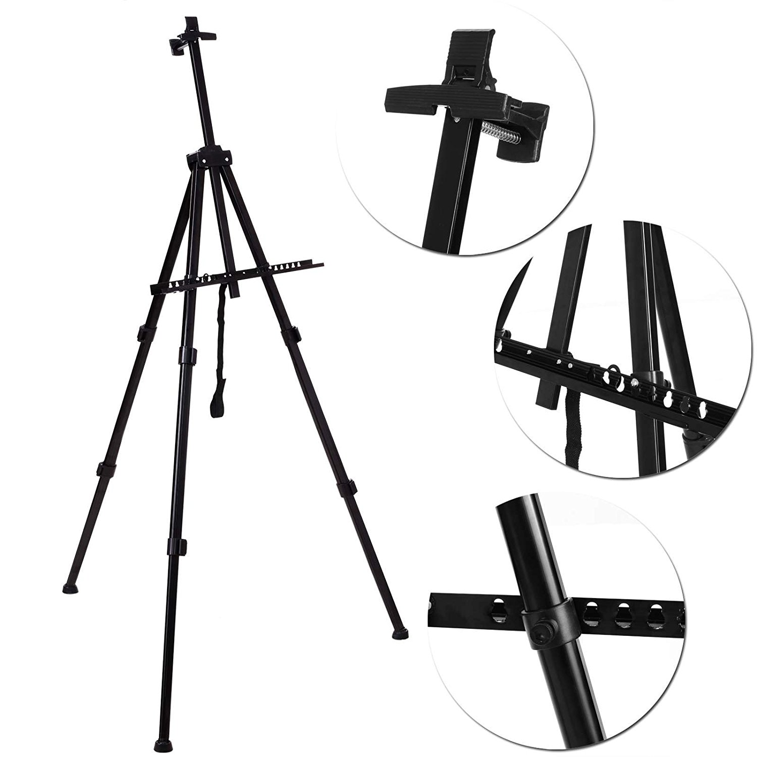 1500x1500 Homdox Artist Tripod Painting Display Easel Holder