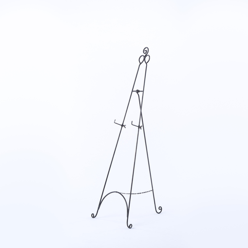 800x800 Wrought Iron Easel Rental Encore Events Rentals