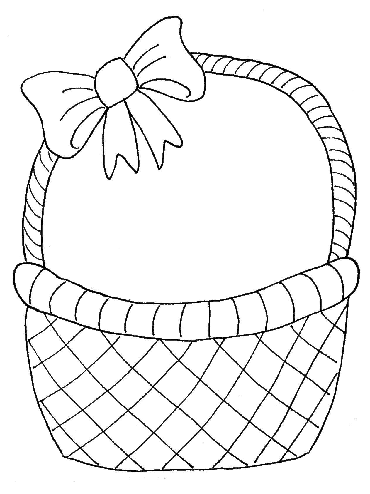 1262x1681 Easter Egg Basket Drawing Hd Easter Images