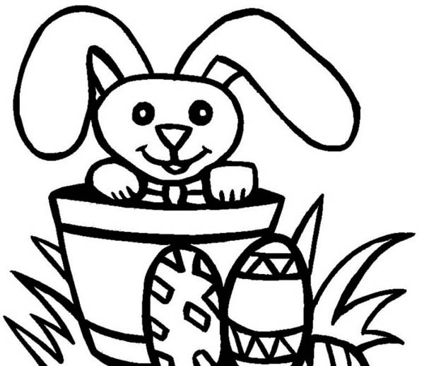 Easter Bunnies Drawing at GetDrawings.com | Free for personal use ...
