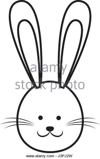 339x540 Cartoon Cute Easter Face Bunny Stock Photos Amp Cartoon Cute Easter