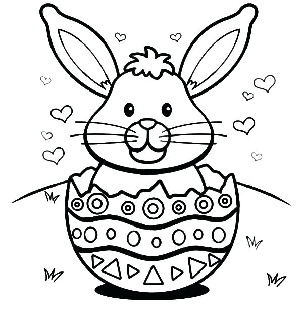 photo regarding Bunny Face Printable named Easter Bunny Encounter Drawing at  Free of charge for