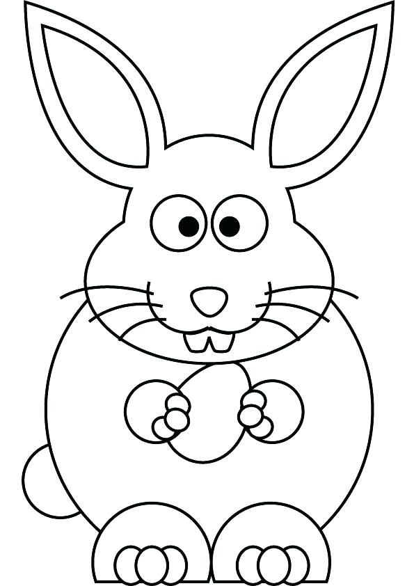 595x842 Easter Bunny Face Coloring Pages Bunny Card Coloring Page Easter