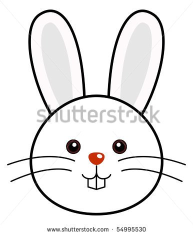 386x470 Easter Bunny Face Drawings Happy Easter 2018