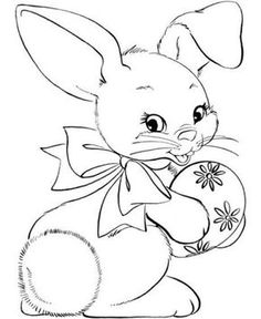 236x288 Easter Bunny Face Coloring Page Coloring Cartoon Easter Face Baby