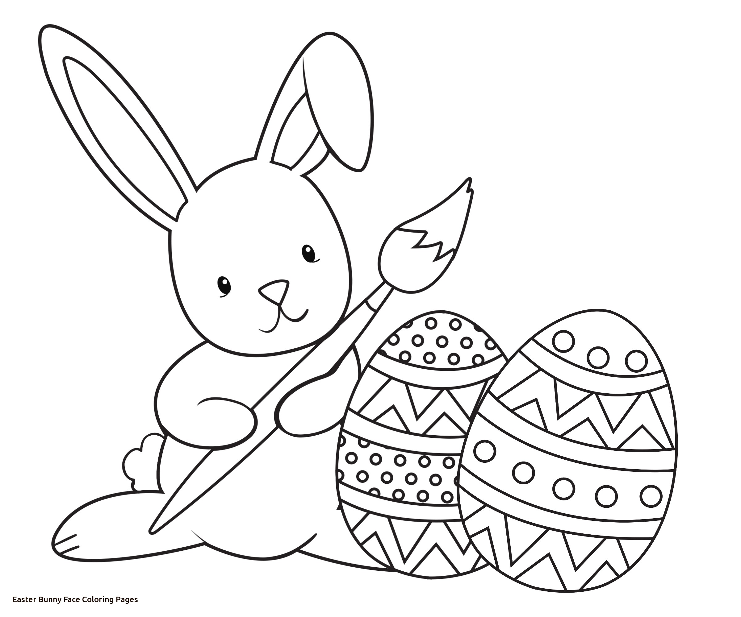 2400x2000 Coloring Book Easter Bunny Color Image Gallery Website Of Face