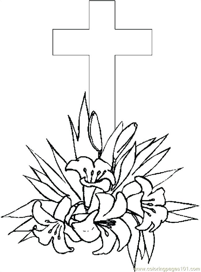 650x878 Cross Coloring Pages For Cross Coloring Pages In Addition