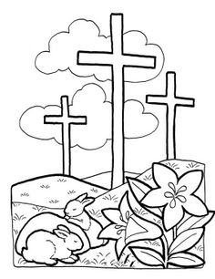 236x306 Easter Bible Coloring Pages After School Activities Amp Adventures