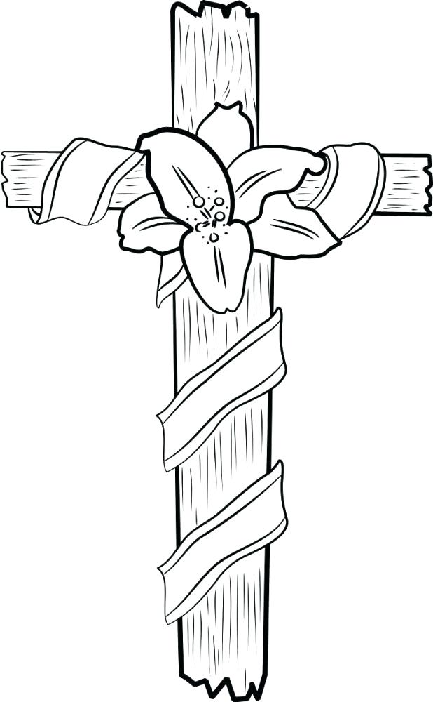 618x1000 Cross Coloring Pages Cross Coloring Page Printable Cross Coloring