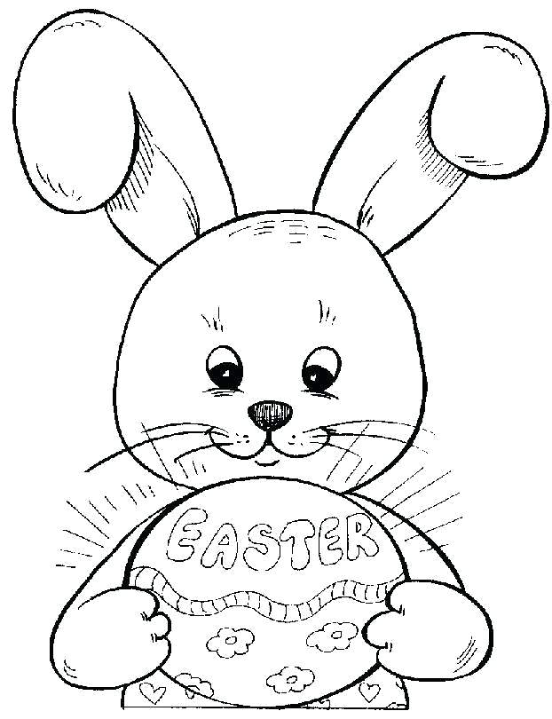 622x810 Happy Easter Coloring Pictures Happy Coloring Page For Kids Happy
