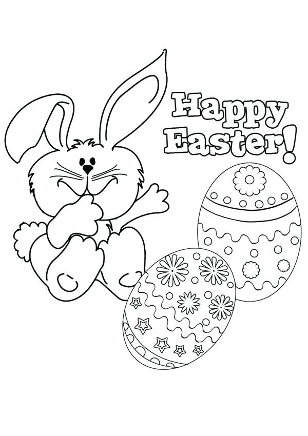 600x850 Happy Easter Coloring Pictures Happy Coloring Pages Free Happy