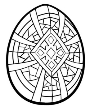 290x359 Easter Empty Easter Basket, Easter Basket Coloring Page