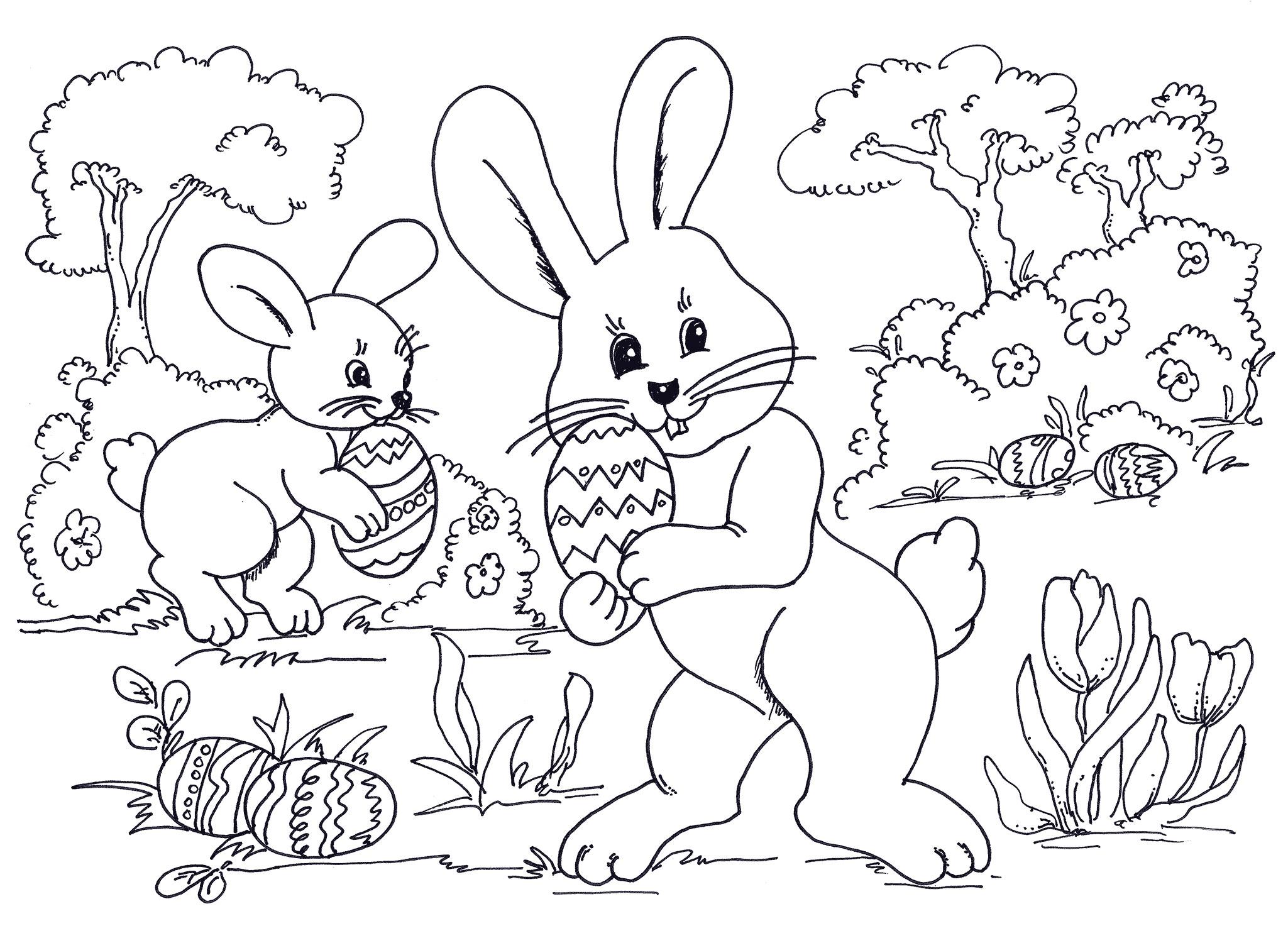Bonito Disney Easter Coloring Pages Para Imprimir Festooning ...