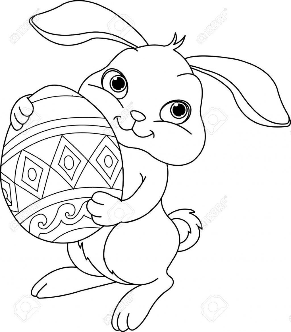 1024x1166 Uncategorized ~ Easter Bunny Drawing Black Clipart Uncategorized