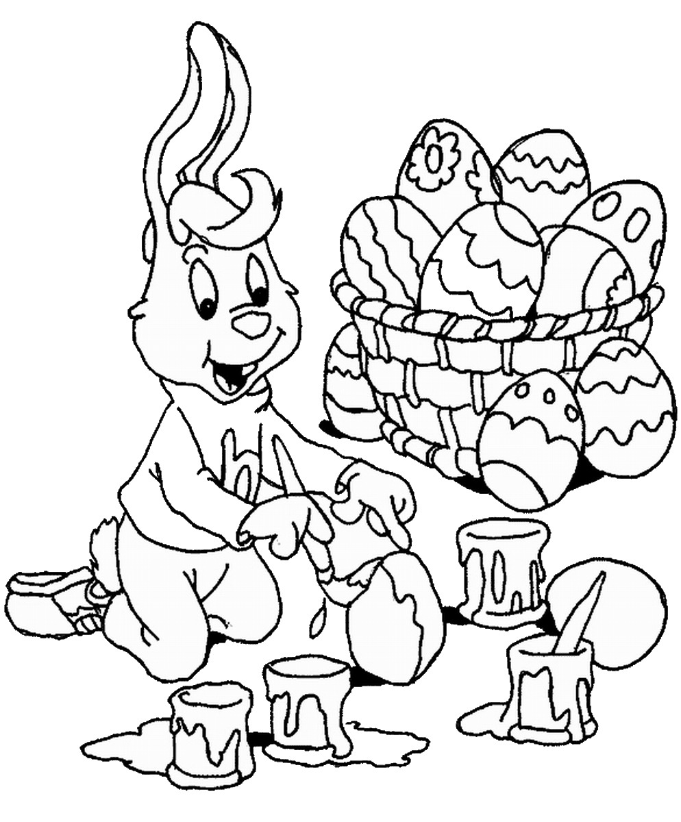 994x1200 easter coloring pages