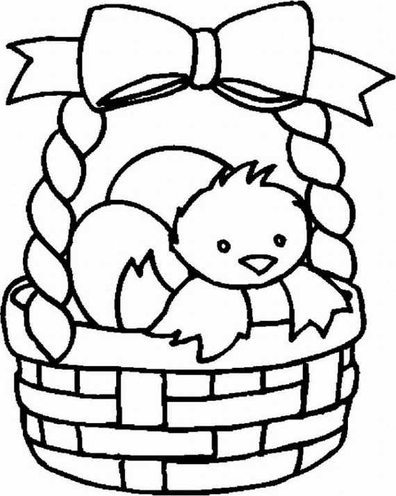 570x713 Easter Holiday Coloring Pages For Kids