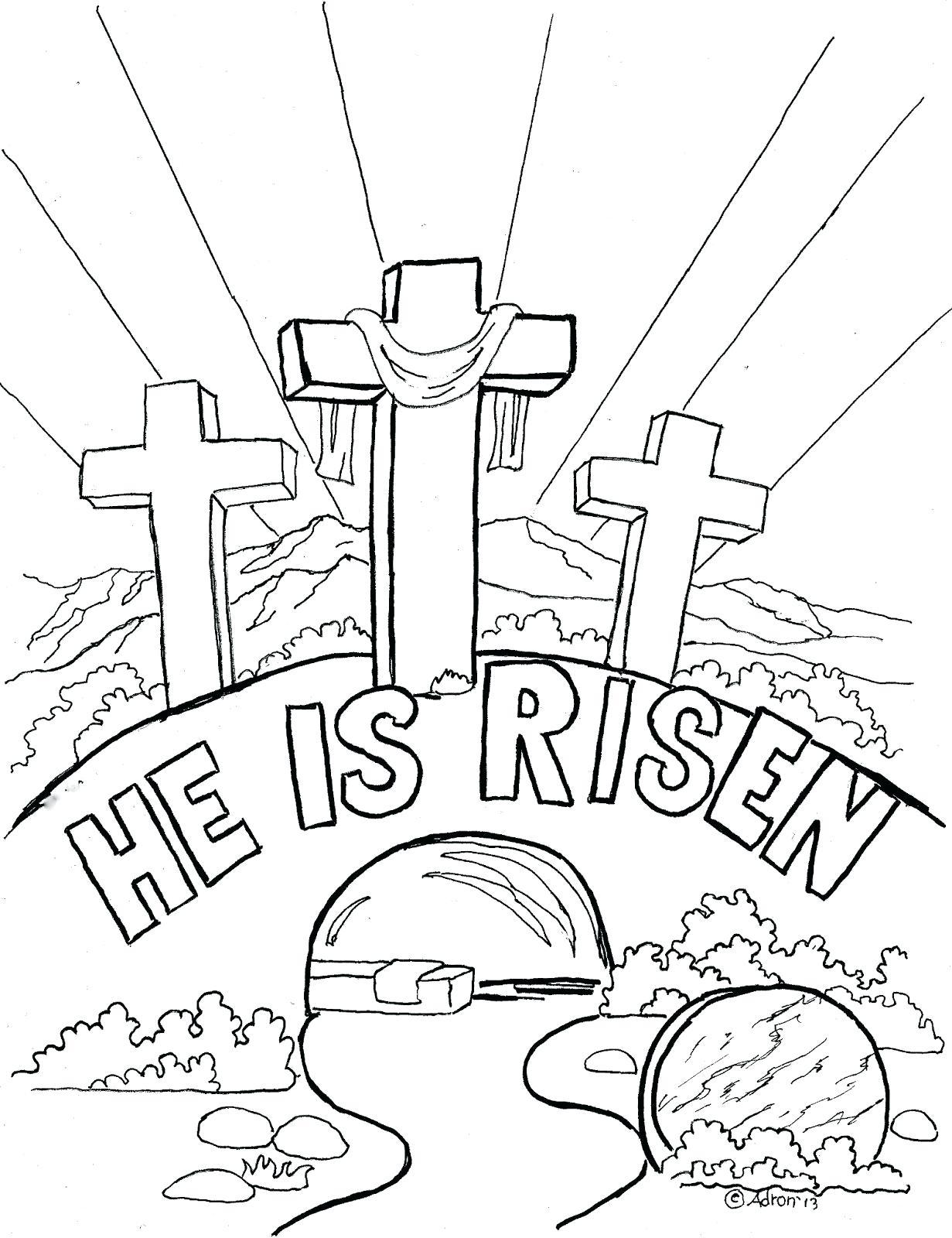1231x1600 Printable Easter Story