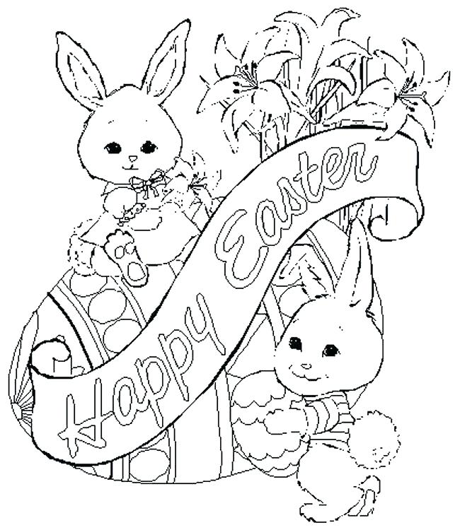 650x750 Professional Easter Drawing Ideas Coloring Pages For Religious