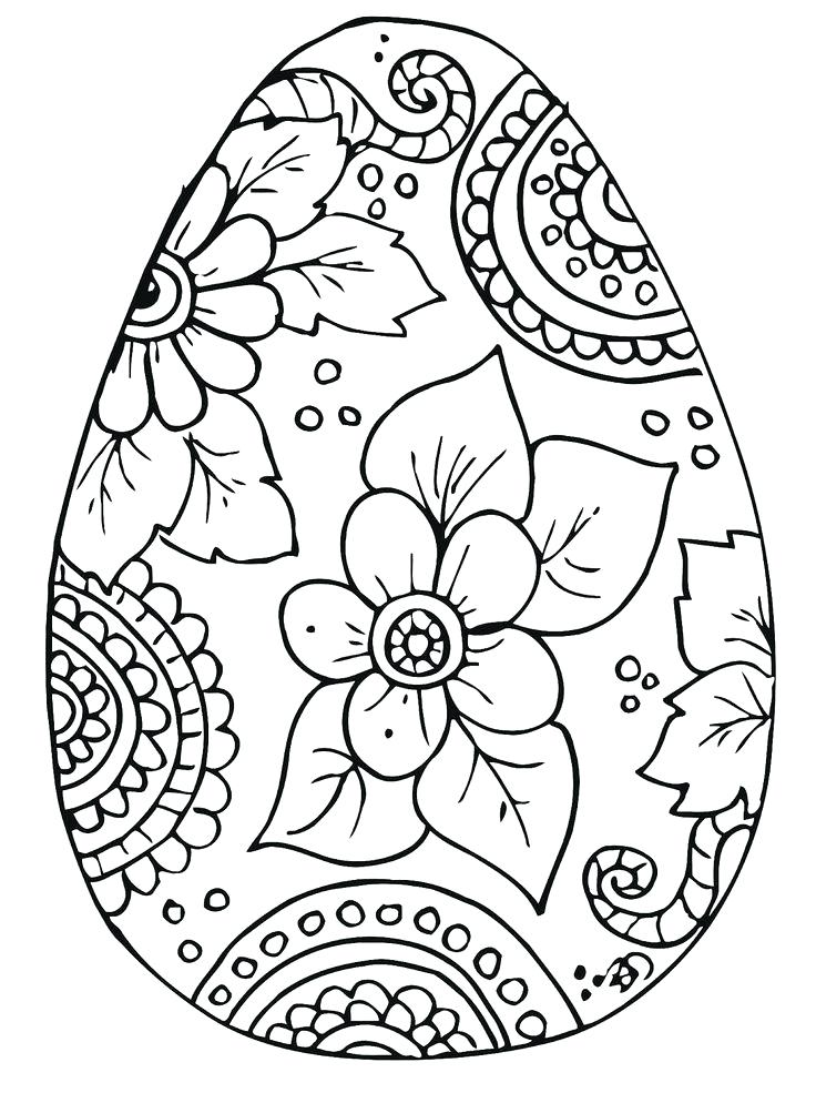 736x1003 Easter Egg Coloring Sheets Free Egg Coloring Pages Templates Media