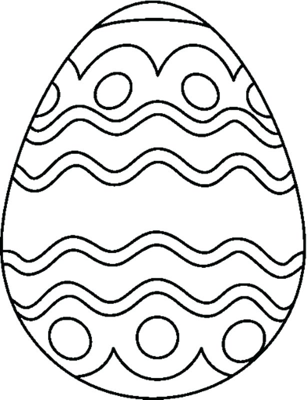 616x799 Easter Egg Printable Coloring Pages Kids Eggs