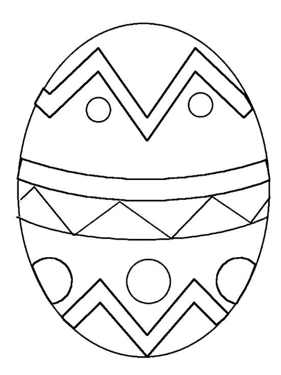 551x735 Easter Eggs To Coloring Pages Egg Coloring Page On Easter Egg