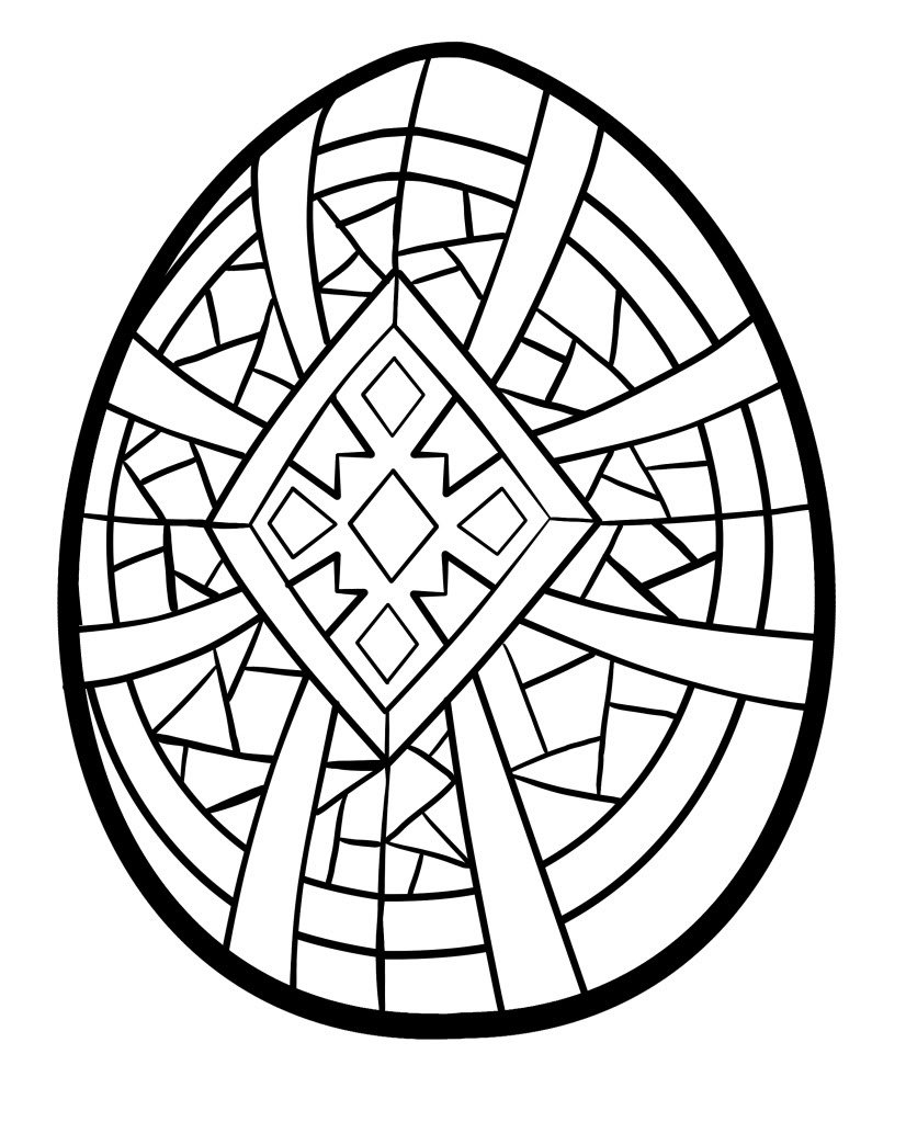826x1023 Easter Egg Coloring Pages Easter, Egg And Easter Colouring
