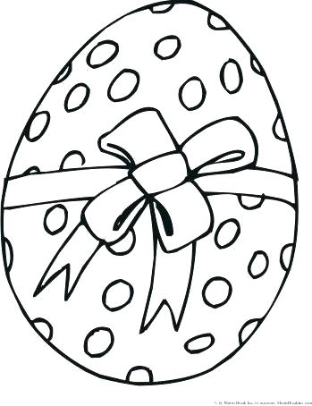 Easter Egg Drawing Template at GetDrawings.com | Free for personal ...