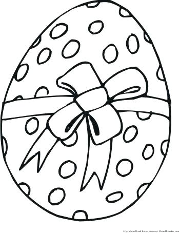 349x454 Easter Egg Coloring Pages 57 Together With Eggs Pictures Print