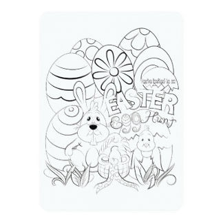 324x324 Easter Egg Hunt Invitations Amp Announcements Zazzle Canada