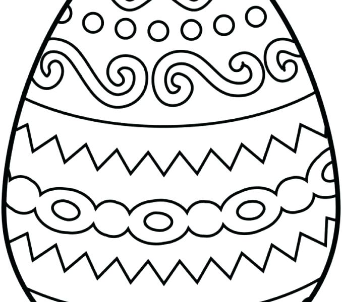 678x600 easter eggs to coloring pages egg coloring pages for adults - Coloring Pages Of Easter Eggs
