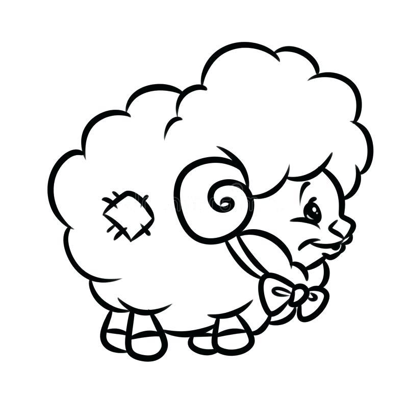 800x772 Lamb Coloring Page Sheep Drawing For Kids Lamb Coloring Page Lamb