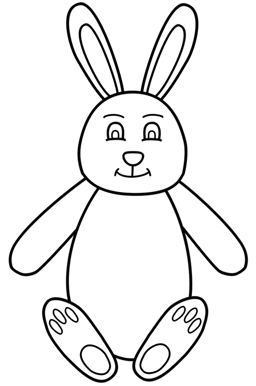 Easter Rabbit Drawing