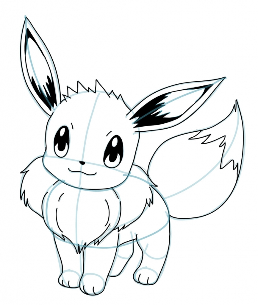 867x1024 Easy Pokemon Drawings How To Draw Pokemon Characters How To Draw