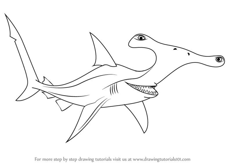 800x565 Learn How To Draw Anchor From Finding Nemo (Finding Nemo) Step By