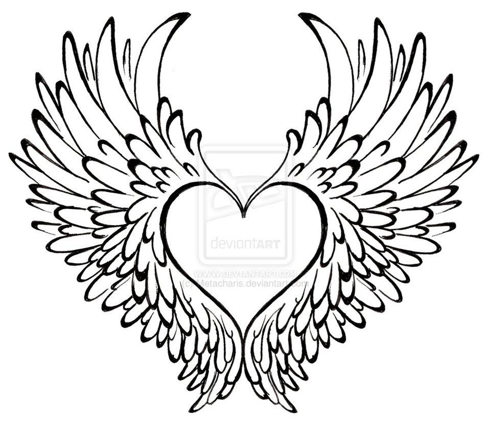 angel wings template - Dorit.mercatodos.co