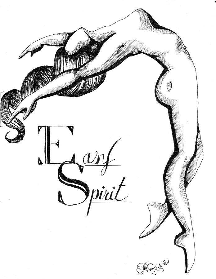 696x900 Easy Spirit Drawing By Scarlett Royal
