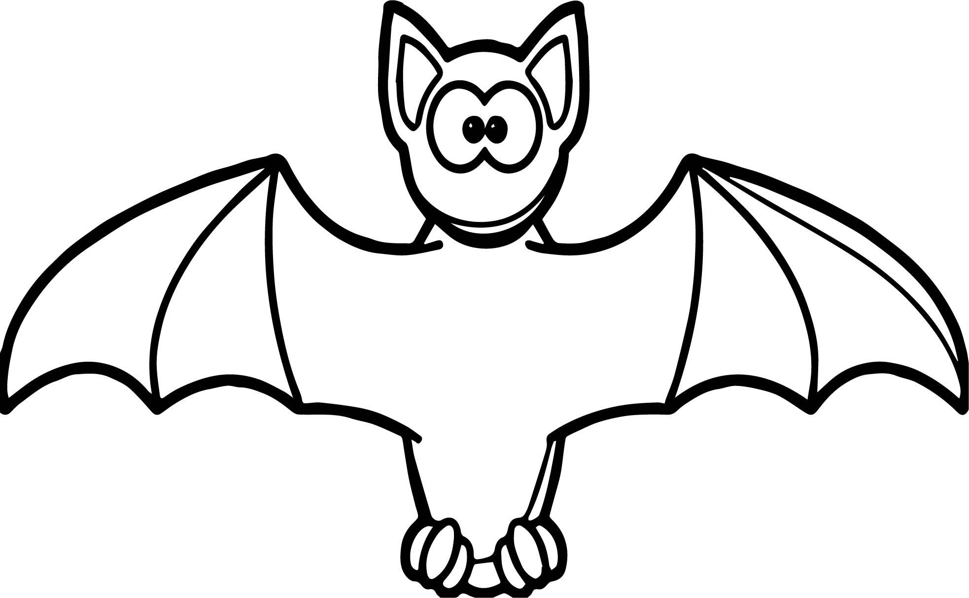 Easy Bat Drawing