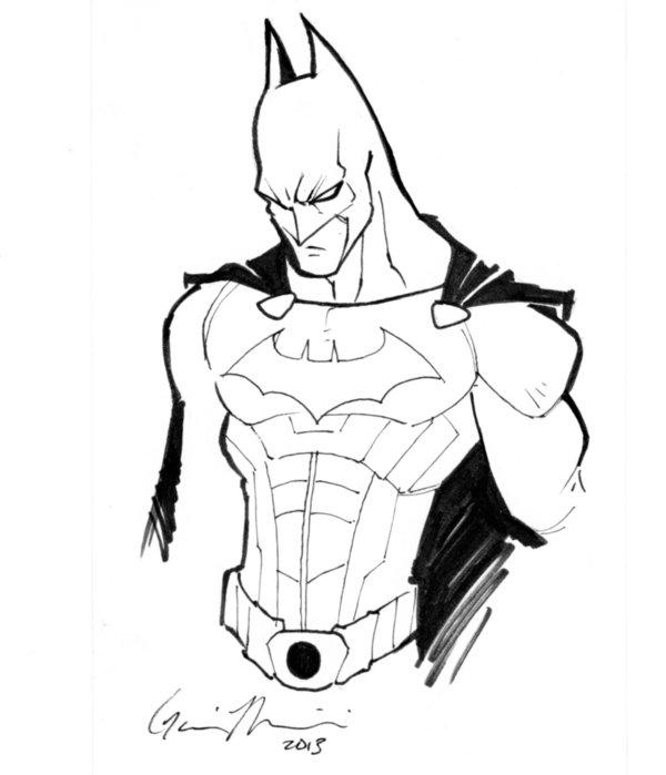 600x699 Cool Batman Drawings Cool Batman Sketches Batman Begins By