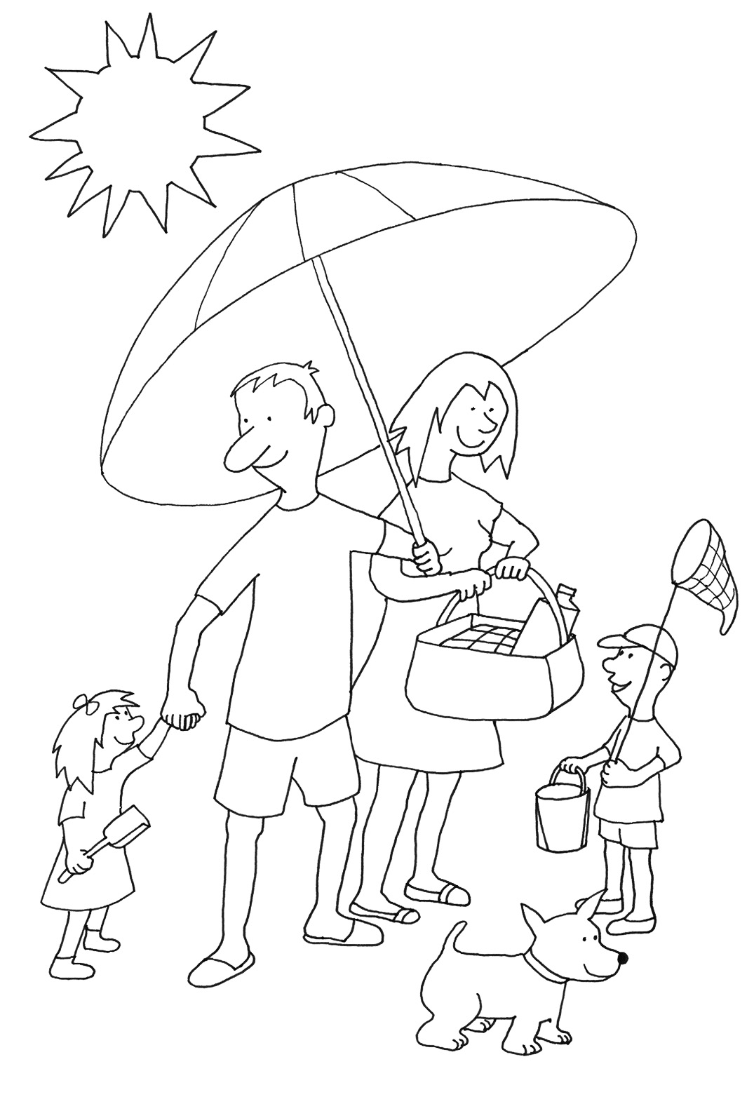 1075x1594 Summer Coloring Pages To Print
